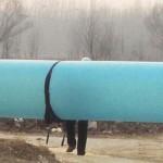Zsákokban szállítják a földgázt Kínában