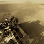 360 fokos panorámafotó a Marsról