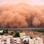 Óriási homokviharok