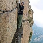 A világ legveszélyesebb gyalogos túrája a Sárga-hegyen