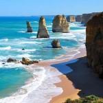 Tizenkét Apostol – mészkőoszlopok Ausztrália partjainál