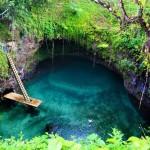 Sua Ocean Trench – gyönyörű tó a Szamoa-szigeteken