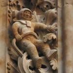 A salamancai székesegyház űrhajós szobrának rejtélye