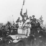 Így ünnepelték az emberek az I.világháború végét