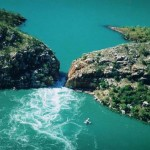 Talbot Bay vízszintes vízesései