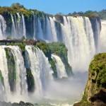 A lélegzetelállító Iguazú-vízesés