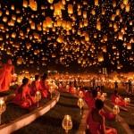 A nap képe – Yi Peng Lámpás Fesztivál
