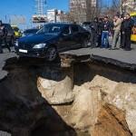 Egy orosz város, amit elnyel a föld