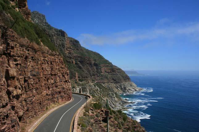 Chapman's Peak Drive, Fokváros, Dél-Afrikai Köztársaság
