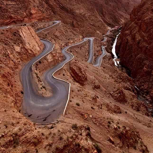 Dades Gorges, Atlasz hegység, Marokkó