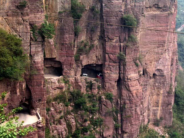 Guoliang alagút, Kína