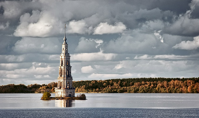 Kalyazin harangtorony, Oroszország