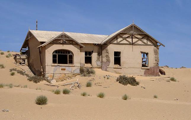 Kolmanskop - Namíbia