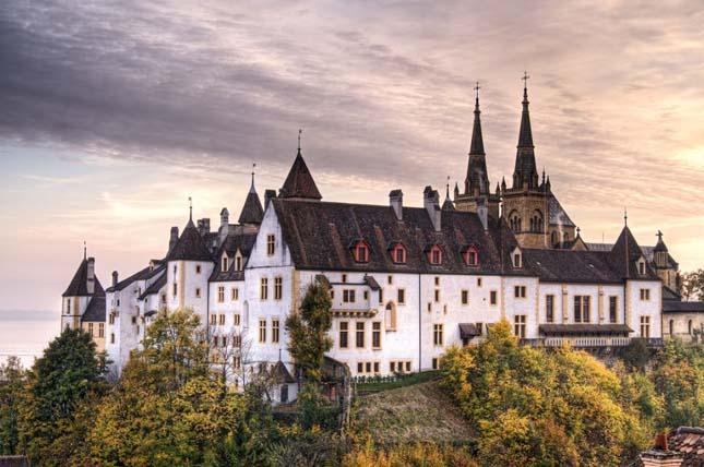 Neuchátel Castle