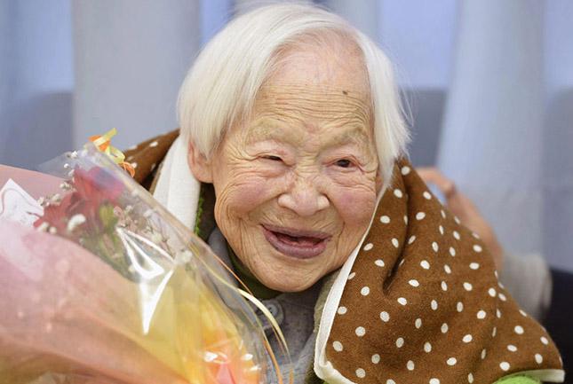 Okava Miszao - A Világ legöregebb nője
