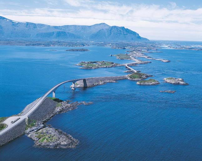 The Atlantic Road, Norvégia