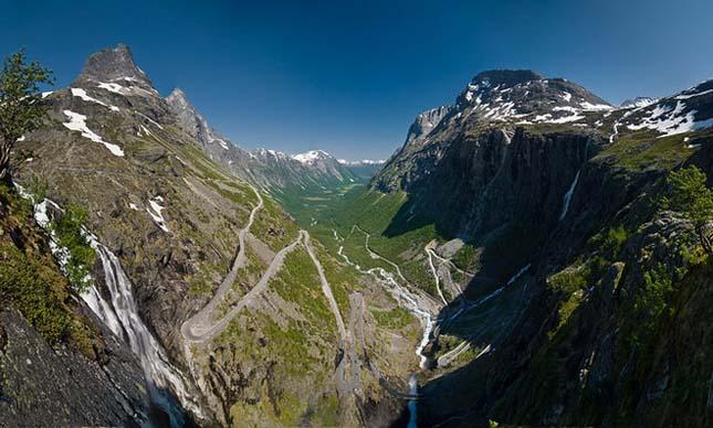 Trollstigen, Rauma, Norvégia