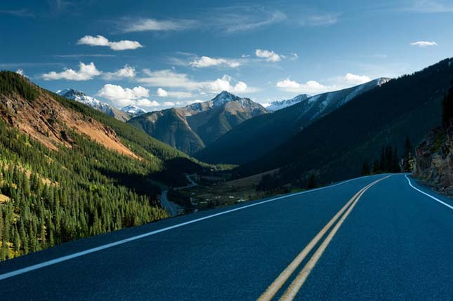 U.S. Route 550 'The Million Dollar Highway, Colorado, USA