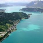 Annecy-tó – Európa legtisztább tava
