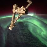 A nap képe – a gyönyörű sarki fény az űrből nézve