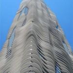 Aqua Tower – hullámzó felhőkarcoló