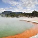 Rotoura – fortyogó új-zélandi táj