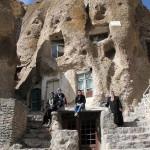 Kandovan – sziklába vájt ősi falu Iránban