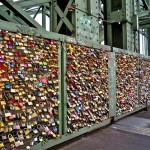 Hohenzollernbrücke- a szerelmesek hídja