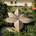 Levél ház – látványos családi ház a brazil tengerparton