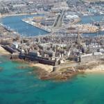Saint Malo – Franciaország fallal védett kikötővárosa