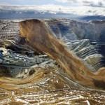 Hatalmas földcsuszamlás volt egy amerikai rézbányában