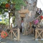 Tölgykápolna egy kis francia faluban