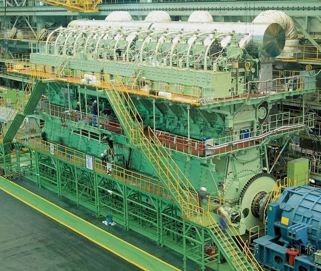 A világ legnagyobb dízelmotorja
