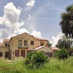 Khalil Bin Laden elhagyott kastélya Floridában