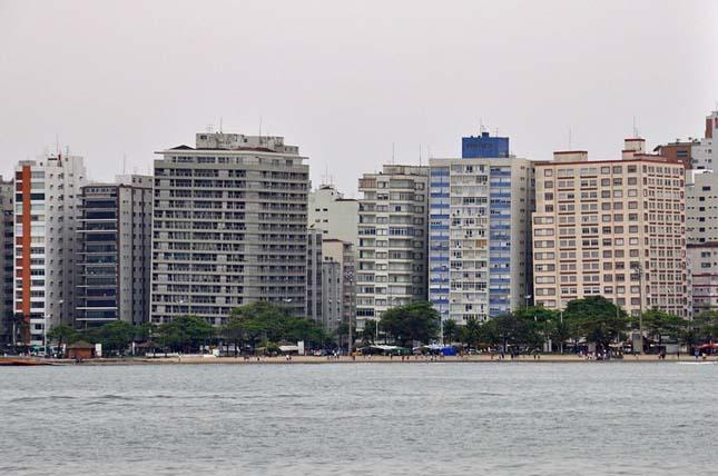 Santos - Megdőlt épületek