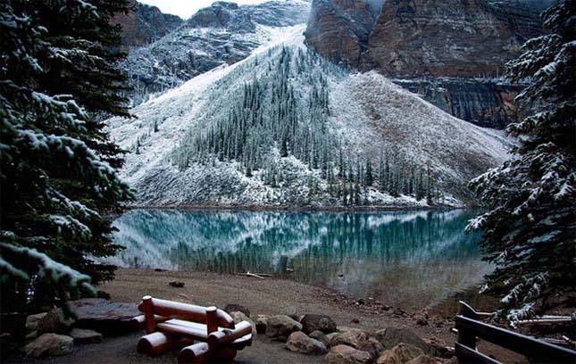 Agnes Teahouse-tó - Banff Nemzeti Park, Kanada
