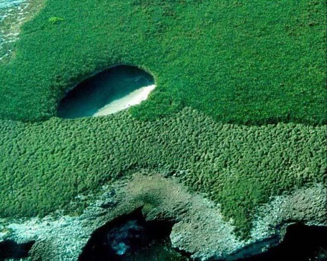 Hidden Beach, Marietta-szigetek, Mexikó