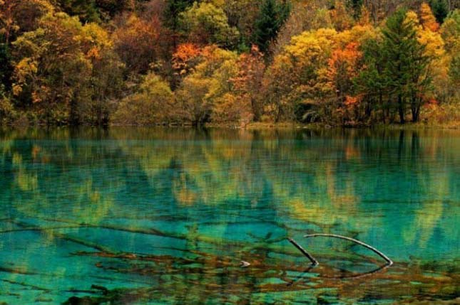 Jiuzhai Valley Nemzeti Park, Kína