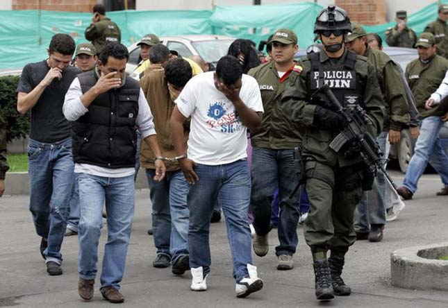 Kolumbiai Drog Kartelek