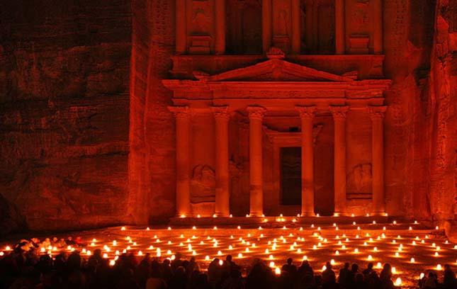 Petra romvárosa, Jordánia