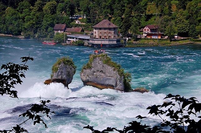 Rheinfall vízesés
