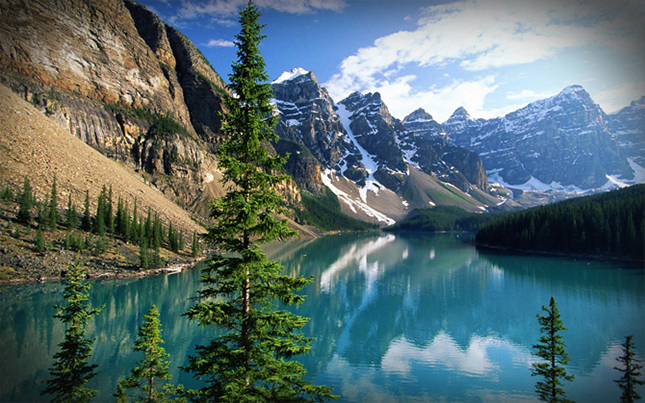 Ten Peaks völgy - Banff Nemzeti Park, Kanada