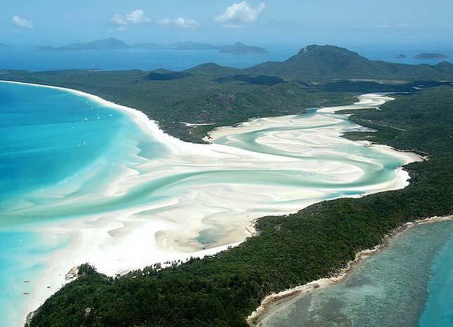 Whitehaven Beach, Ausztrália