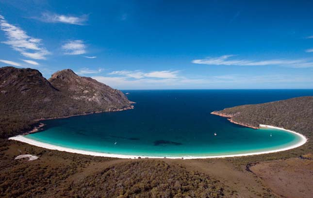 Wineglass Bay - Freycinet Nemzeti Park, Ausztrália