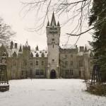Az elhagyatott Miranda kastély Belgiumban