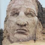 Crazy Horse Memorial – a lengendás Őrült ló szobra