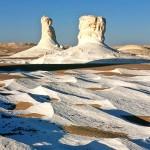 Sahra el-Beida – Fehér-sivatag Egyiptomban