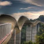 Henderson Waves – hullámzó híd a nemzeti park fölött