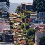 Lombard Street – a világ legkanyargósabb utcája