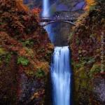 A látványos Multnomah-vízesés